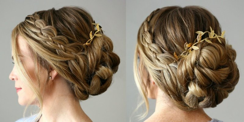 Gorgeous Braided Headband Hair Styles