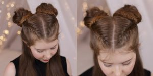 New Party Hairstyle Step by Step Treatment