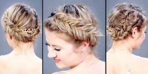 Hottest Short Hairstyle for Parties